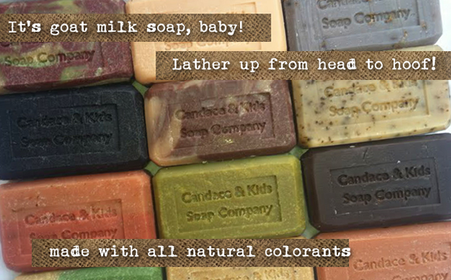 Candace and Kids Soap Company - handmade goat's milk soap