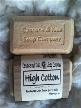 High Cotton Scented Goats Milk Soap